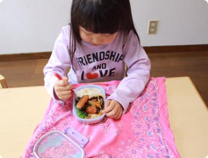 食事の練習